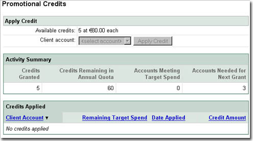 Free Google AdWords Credits