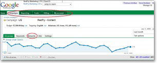 New Adwords User Interface