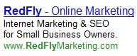 redfly adwords text ad