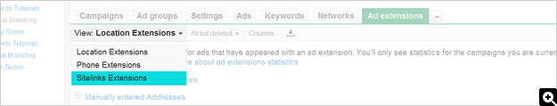 How To Set Up Ad Sitelinks - Screenshot 1