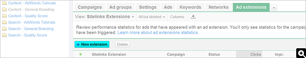 How To Set Up Ad Sitelinks - Screenshot 2