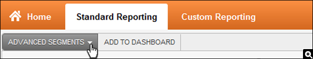 screenshot of in new in-page analytics report - google analytics